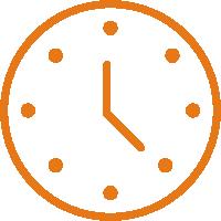 Zegar - godziny pracy